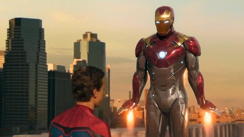 Тони Старк забирает костюм у Питера Паркера | Человек-паук: Возвращение домой