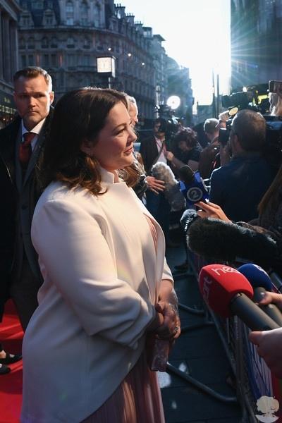 """Мелисса МакКарти на премьере фильма """"Сможете ли вы меня простить"""" в рамках 62nd BFI London Film Festival"""