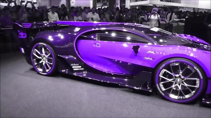 Парамагнитная краска на Bugatti Chiron