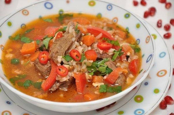 Готовим суп харчо!