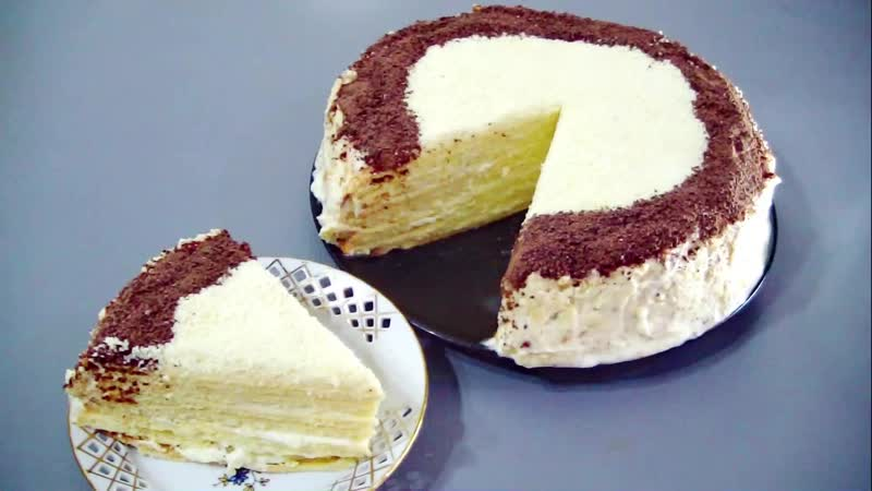 Торт ТВОРОЖНИК
