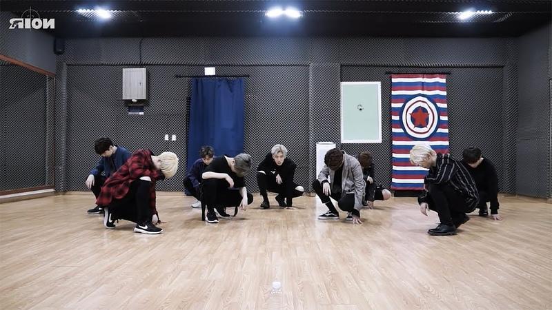 NOIR (느와르) - GANGSTA Dance Practice (Mirrored)