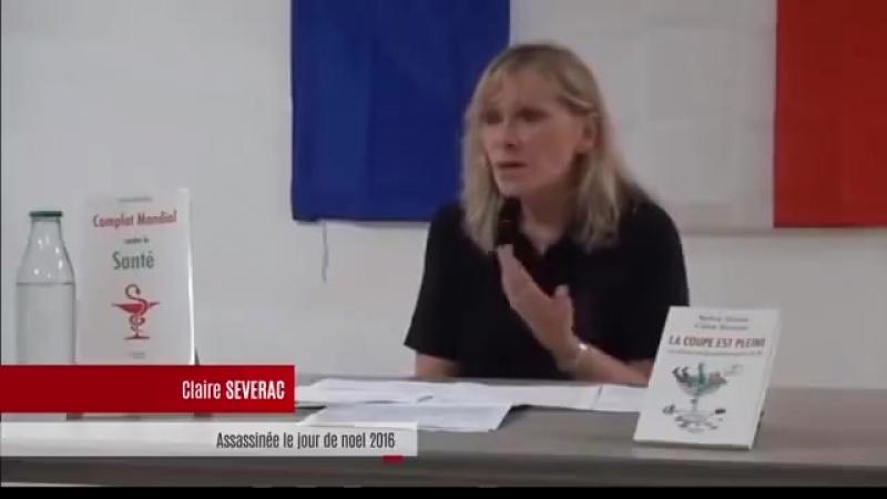 Claire Severac : La santé humaine est le cadet des soucis de l'industrie vaccinale !