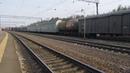 Электровоз ВЛ11-388 с грузовым поездом станция Кресты 26.04.2019