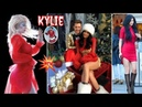 Kylie Jenner gold Pine-Tree n Kylies Red Outfits Compilation Hot color all the time for Christmas