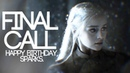 Final Call Game Of Thrones