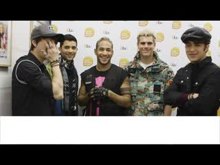 Latin american boyband cnco share what they love the most about the uk good morning britain [rus sub]