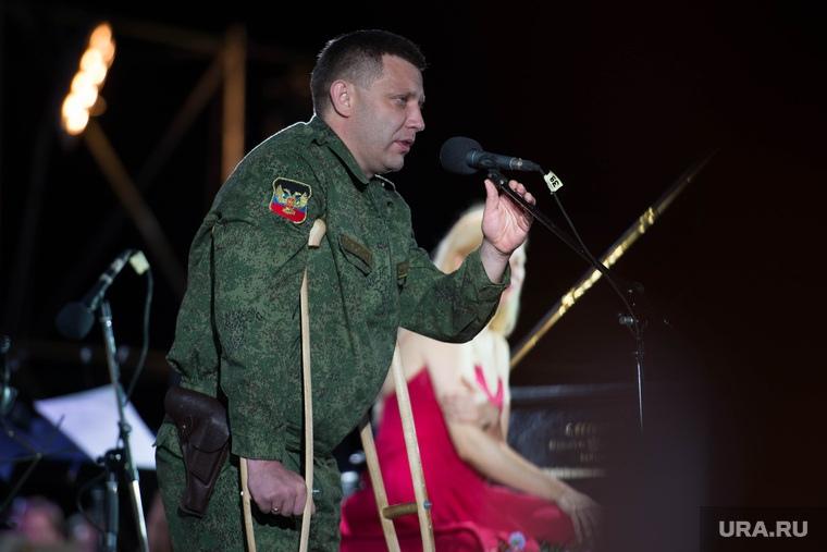 В Центре Донецка подорвали главу ДНР Александра Захарченко