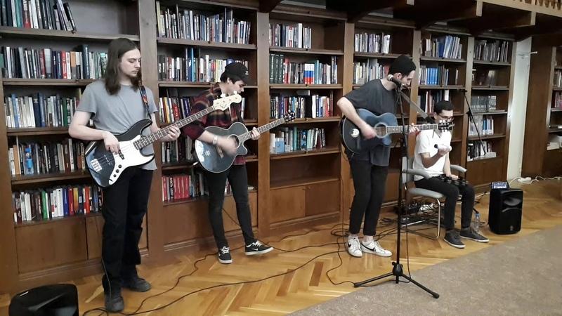 2. Концерт Акустика на балконе: группа Chosen By Eywa, 19 апреля 2019 в библиотеке им. Белинского