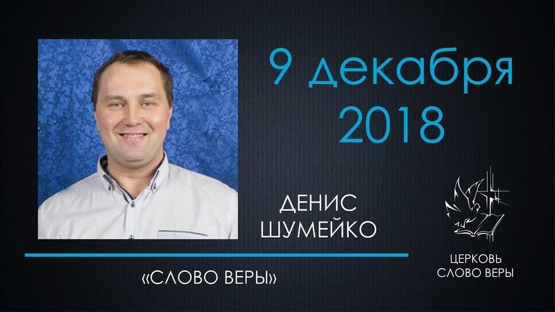 9.12.2018 Слово веры - Шумейко Денис