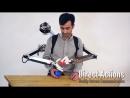 Необычный робот рюкзак управляется дистанционно