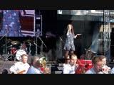 День г.п. Монино - 2018 концерт (Екатерина Морохотова Щёлковский духовой оркестр -