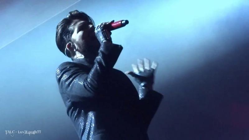 Q ueen Adam Lambert W ho W ants to L ive F orever P ark Theater Las Vegas 9.5.18
