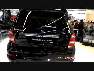 Brabus Mercedes GL-Class GL 63 Biturbo - IAA 2011 Frankfurt Motorshow [Full HD]