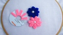 Hand Embroidery Amazing Trick Sewing Hack Easy flower embroidery trick