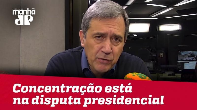 Concentração do eleitorado está mais na disputa presidencial que estadual Marco Antonio Villa