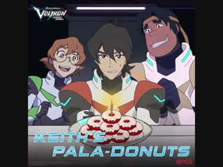 Make your own red velvet donuts AND celebrate Keith's b-day? Sign us up!