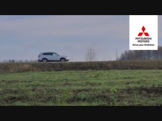 Mitsubishi по следам русских сказок. Колобок, Лукоморье, родина Алеши Поповича.
