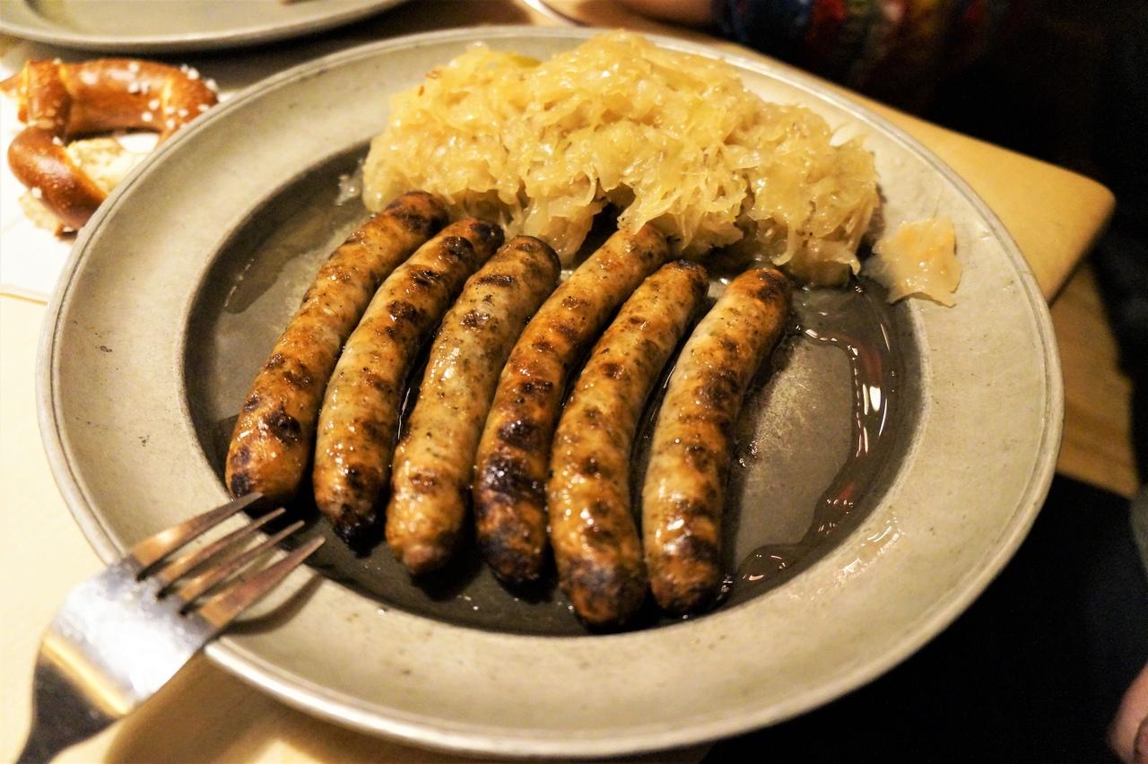 Классическая немецкая кухня в Нюрнберге
