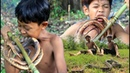 Primitive Technology - How to catch snakes in the wild cooking eating delicious