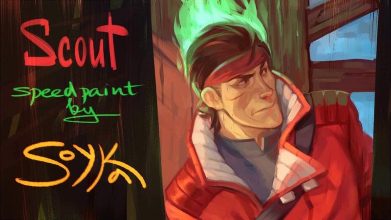 Scout SpeedPaint TF2