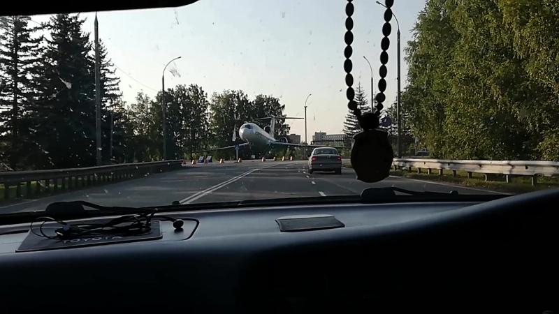 Пропустили поворот в Новосибе, едем по города, ссылка на instagramm вверху страницы.