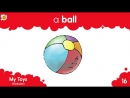 My Toys Vocabulary Chant - Inside Outside and Playground TOYS