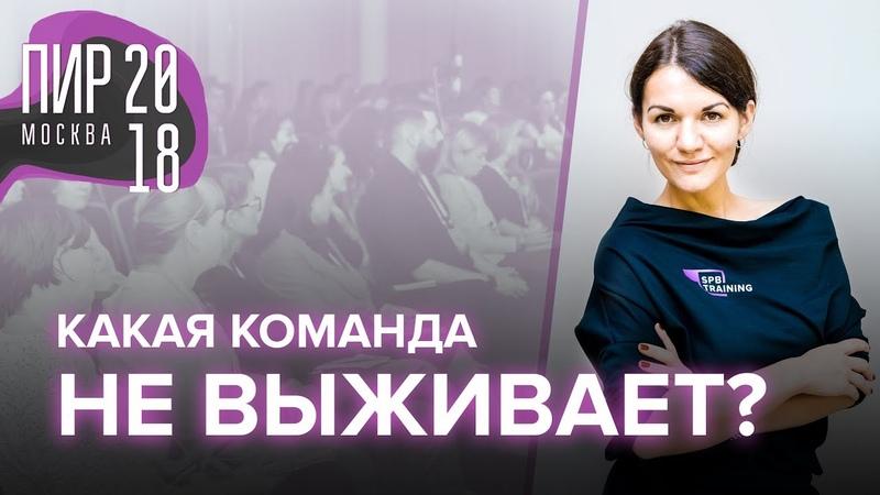Антихрупкие Команды Командный Интеллект на ПиР 2018 Екатерина Москова