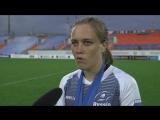 Игрок женской сборной России по регби-7 Дарья Лушина о победе в чемпионате Европы.