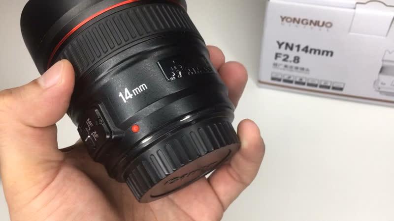 Обзор объектива yongnuo 14 mm