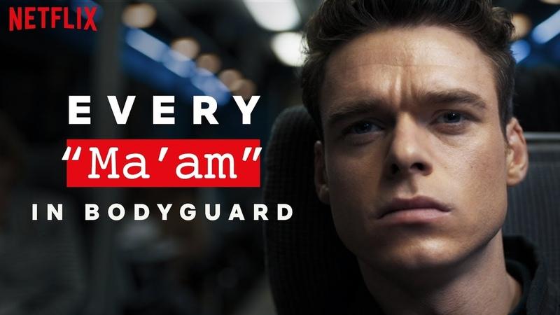 Bodyguard   Every Time Richard Madden Says Maam   Netflix