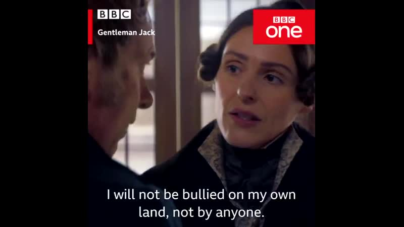 Have you ever kissed anyone No... - - GentlemanJack continues Sunday on BBC One and BBC iPlayer.