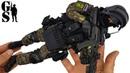 Российский спецназ СОБР Рысь Росгвардия - РОЗЫГРЫШ фигурки в масштабе 1/6 от DAM Toys