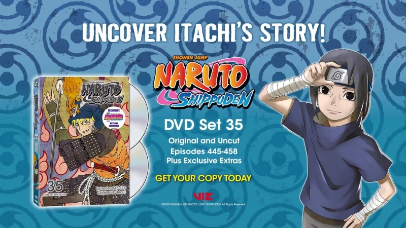 Naruto Shippuden 35 том англоязычного издания сериала