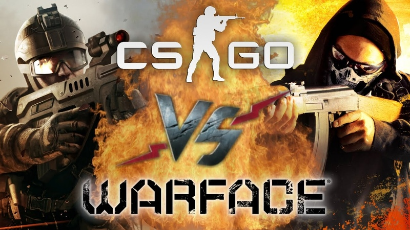 Рэп Баттл - Counter-Strike Global Offensive vs. Warface