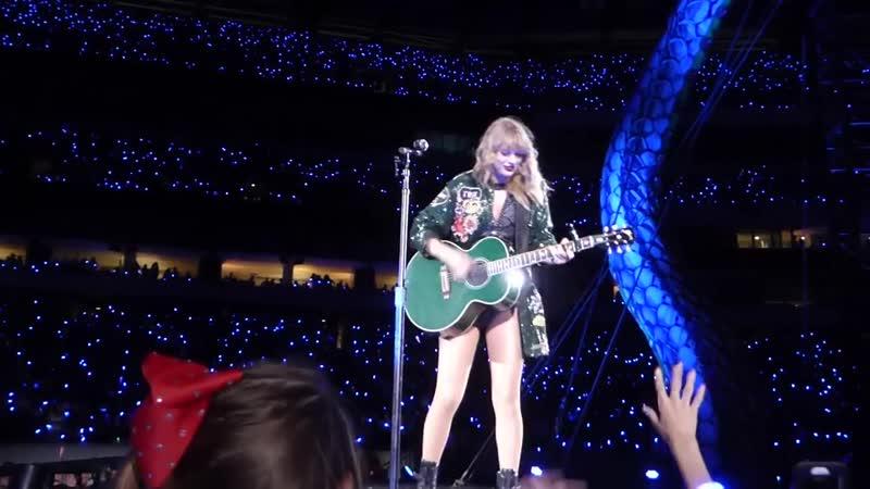 Taylor Swift - Never Grow Up (Acoustic) (Live at Reputation Stadium Tour, Philadelphia)