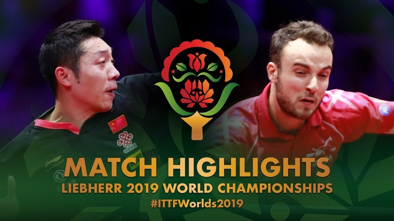 Simon Gauzy vs Xu Xin 2019 World Championships Highlights R32