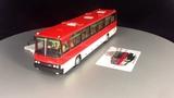 Масштабная модель IKARUS 250.59 красно-белый от Classicbus