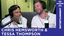 Chris Hemsworth Tessa Thompson Play 'Word Association'