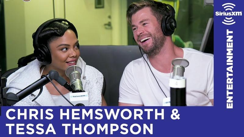 Chris Hemsworth Tessa Thompson Play Word Association