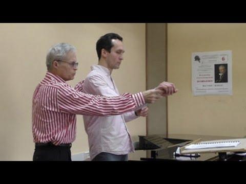 Master Class of conducting Professor Vladimir Ponkin Part II (English subtitles)