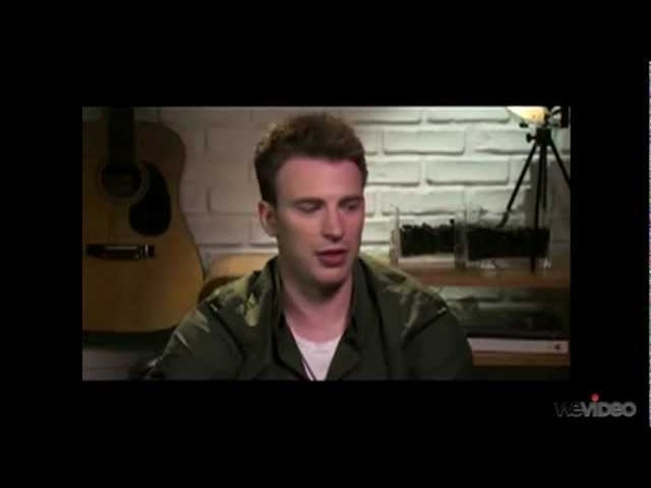 Chris Evans and Robert Downey Jr. say nice things about eachother ^_^