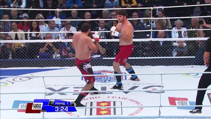 Курбан Ибрагимов vs Магомед Дибиров M 1 Challenge 51 FIGHTSPIRIT