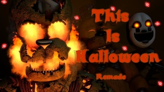 [FNAF SFM] This is Halloween Metal Cover Remake