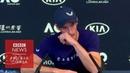 Энди Маррей плачет он заканчивает карьеру теннисиста
