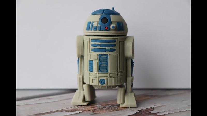USB флешка JASTER (Звездные войны / Star Wars - Р2-Д2 / R2-D2) - Распаковка (AliExpress)