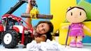 Şila gereksiz yere kağıtları harcıyor. Eğitici çocuk videosu