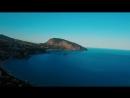 Крым. Ялта. Медведь Гора с высоты. Артек. Гурзуф. Crimea. Black Sea. DJI. 4K. Ву