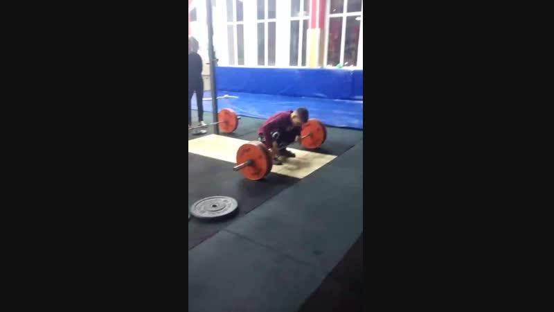 Влад, 2000 г.р., вк 67, 90 кг