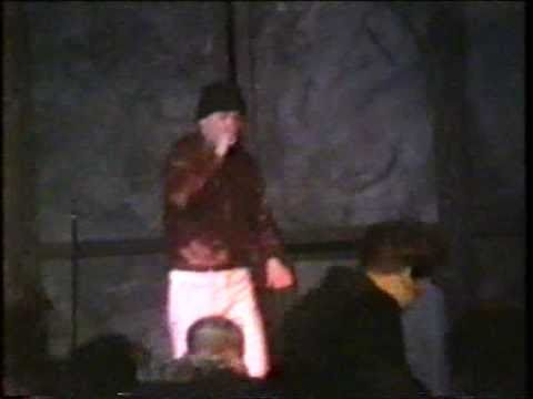 Arvid Tuba - Dårarnas trädgård Live 1990 feat. Poetica Grotesque